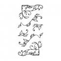 """Ornamenty """"Listki"""" 6 elementów"""