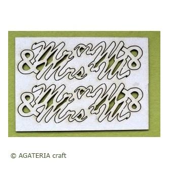 Mr & Mrs   4 szt.