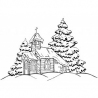 Kościółek zimowy
