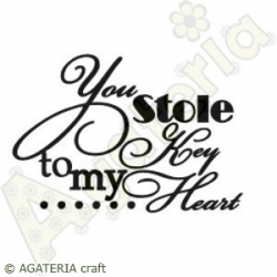 You stole key to my heart...