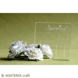 Bloczek akrylowy 4,5 cm x 4,5 cm
