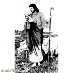 Jezus - vintage - AGATERIA CRAFT